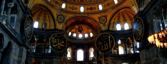 Ayasofya is one of Istanbul City Guide.