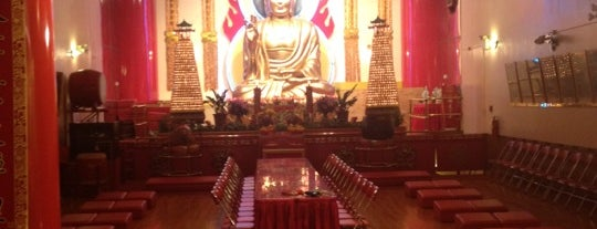Mahayana Buddhist Temple is one of New York City Tourists' Hits.