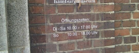 Museum für Hamburgische Geschichte is one of Best of Hamburg.