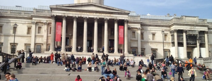 National Gallery is one of St Martins Lane - Art/Tea.