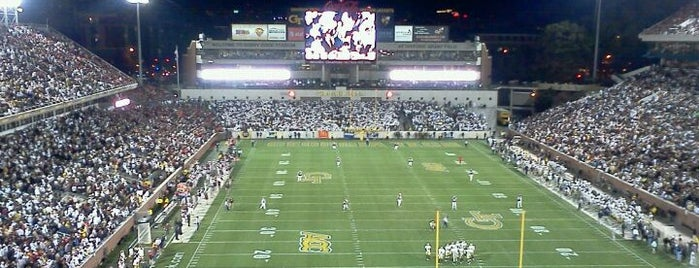 Bobby Dodd Stadium is one of Atlanta History.