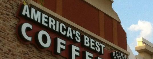 America's Best Coffee is one of Locais curtidos por Claudia.