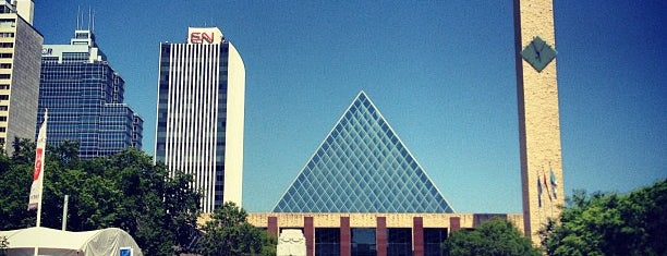 Sir Winston Churchill Square is one of Edmonton / Canadá.