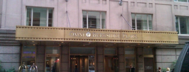Omni Berkshire Place is one of NYC Midtown.