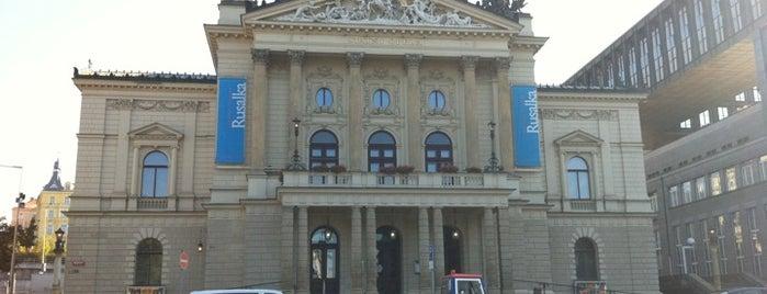 Státní opera Praha is one of StorefrontSticker #4sqCities: Prague.