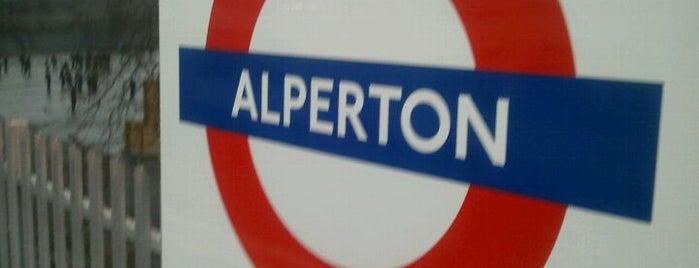 Alperton London Underground Station is one of Underground Stations in London.