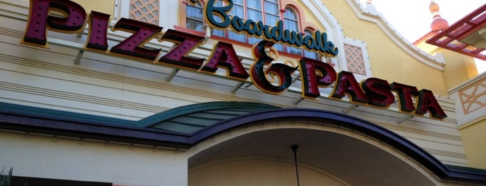 Boardwalk Pizza & Pasta is one of Disneyland MUST Eats!.