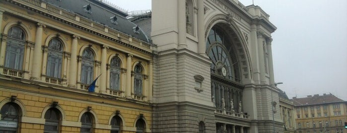 Keleti pályaudvar is one of Must Do's in Budapest.
