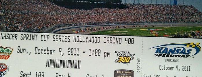 Kansas Speedway is one of Racetracks Around America.