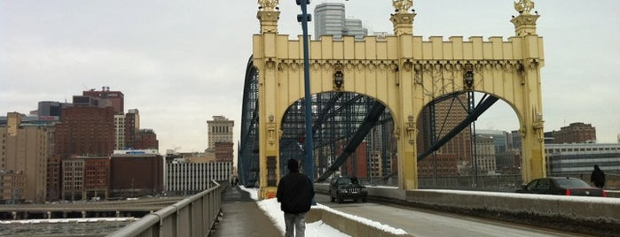 Smithfield Street Bridge is one of Pittsburgh.