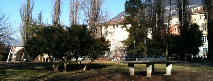 Piazza di Centa is one of Tempat yang Disukai Manuela.