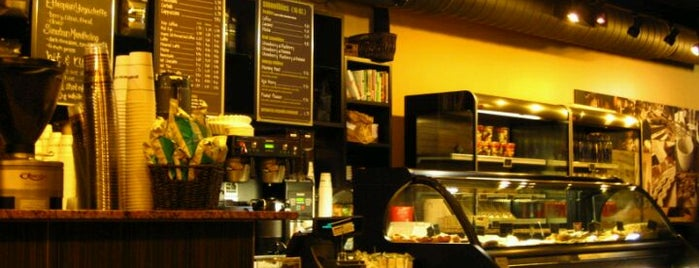 Gregorys Coffee is one of NYC  cafe / coffee lovers (esp soy milk drinkers).