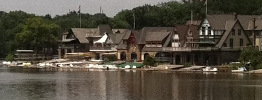 Boathouse Row is one of Badge of Brotherly Love #visitUS.