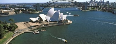 Sydney Harbour is one of SYD.