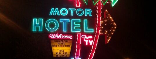 Palms Motel is one of under a roof in portland!.