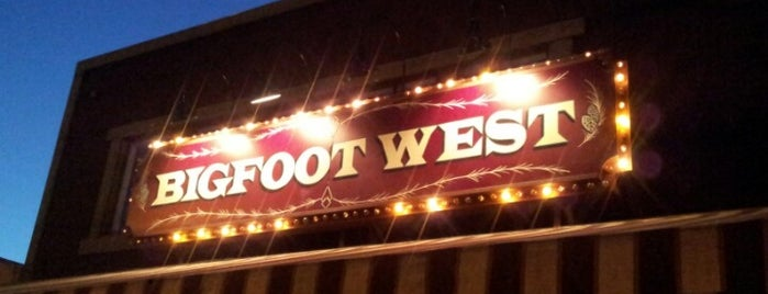 Bigfoot Lodge West is one of LA Libations.