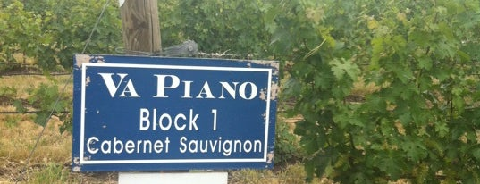 Va Piano Vineyards is one of Wine Trip: Washington (2nd US wine country).