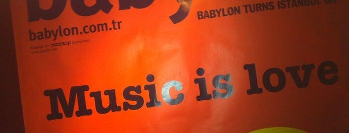 Babylon is one of İstanbul'da Kültür ve Sanat: theMagger Ajanda.