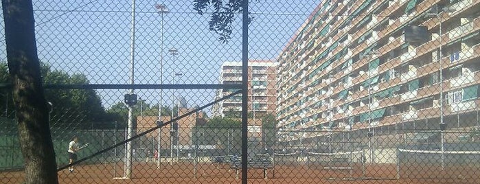 Club de Tennis i Pàdel CEM Olímpia is one of Lugares de Barcelona.