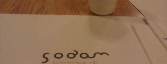 Sodam Korean Restaurant is one of Orte, die Armando gefallen.