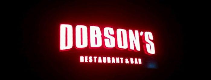 Dobson's Restaurant & Bar is one of Gespeicherte Orte von Jav.