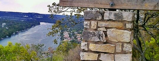 Covert Park at Mt. Bonnell is one of Austin Explorations.