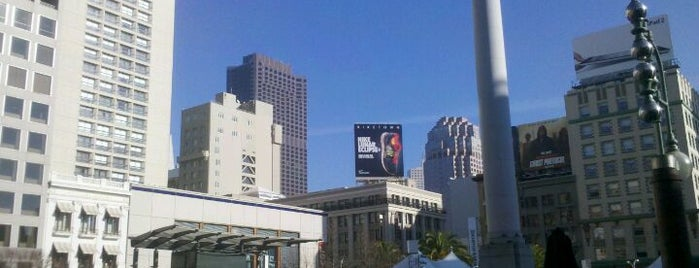 Union Square is one of Great City By The Bay - San Francisco, CA #visitUS.