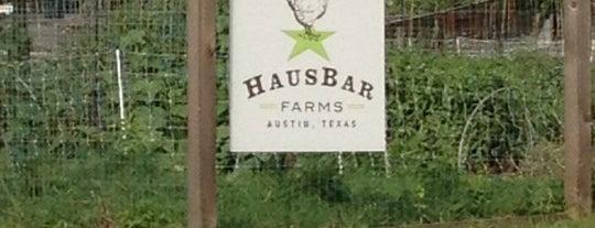 Hausbar Farm is one of Austin.