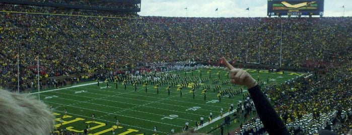 Michigan Stadium is one of Great Sport Locations Across United States.
