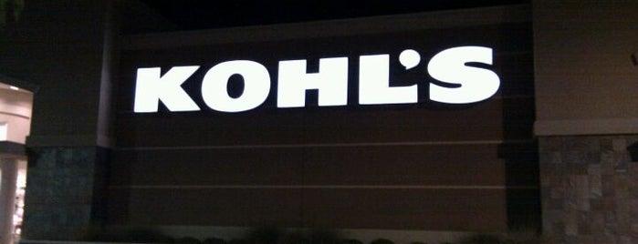 Kohl's is one of Vanessa'nın Beğendiği Mekanlar.