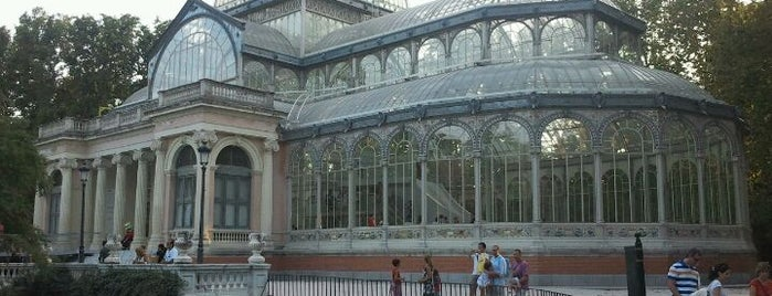Palacio de Cristal del Retiro is one of Madriz.