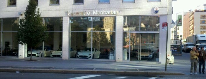 Maserati of Manhattan is one of Frequency.
