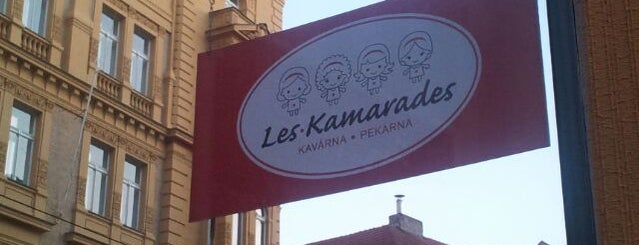Les Kamarades is one of Lugares guardados de Alena.