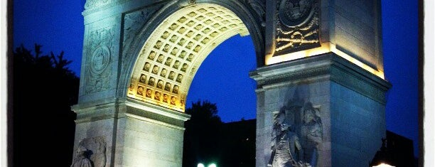 Washington Square Arch is one of Art Nerd New York.