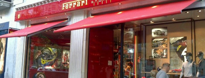 Ferrari Store is one of Locais curtidos por María.