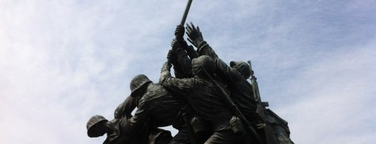 US Marine Corps War Memorial (Iwo Jima) is one of ♡DC.