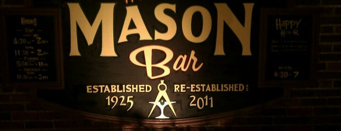 The Mason Bar is one of Taitさんのお気に入りスポット.