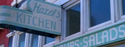 Hazel's Kitchen is one of Locais salvos de Verna.