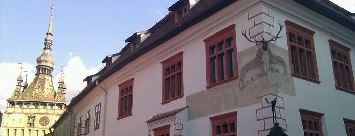 Casa cu Cerb is one of Romania 2014.