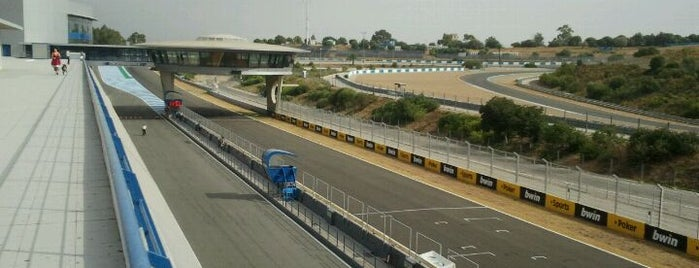 Circuito de Jerez is one of Formula One Track 2014.