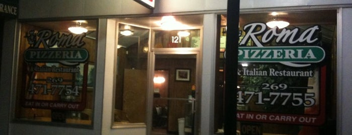 Roma Pizzeria & Italian Restaurant is one of Must-visit Food in Berrien Springs.