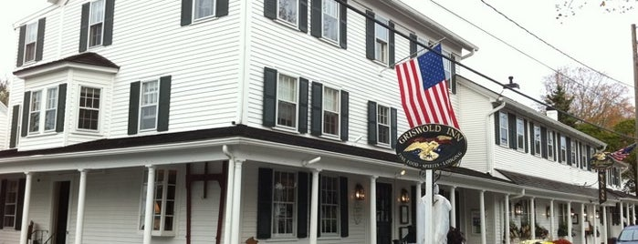 The Griswold Inn is one of NY Region Old-Timey Bars, Cafes, and Restaurants.