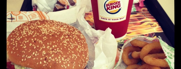 Burger King is one of Favorite Food & Drink.