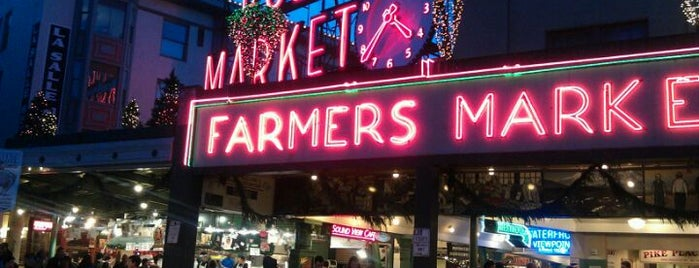 Pike Place Market is one of A Weekend in Seattle.