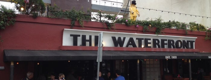 The Waterfront Bar & Grill is one of CA: San Diego.