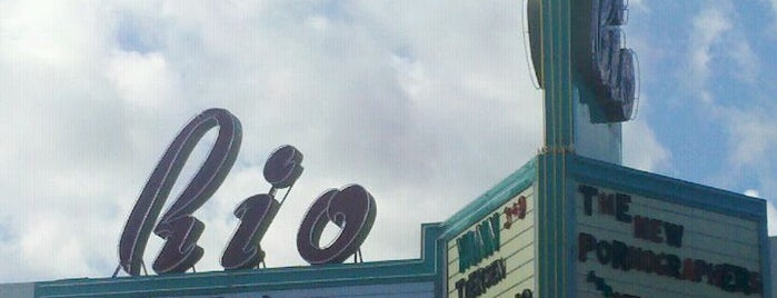 Rio Theatre is one of Lugares favoritos de Roy.