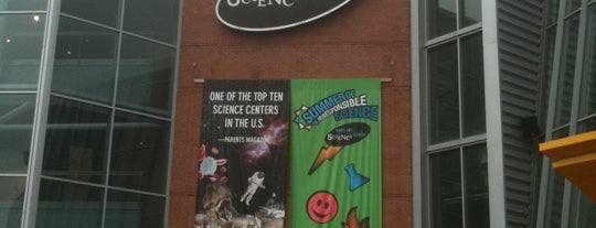 Maryland Science Center is one of To do.