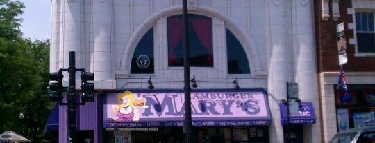 Hamburger Mary's is one of Food.