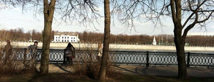 Vorobyovskaya Embankment is one of ?.