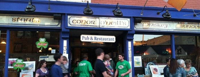 Conor O'Neill's is one of Lieux qui ont plu à David.